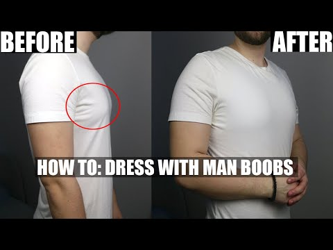 How To Hide Man Boobs - 5 Style Tips For Big Guys