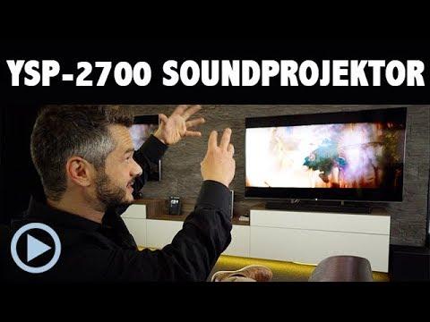 Yamaha YSP 2700 Soundprojektor Soundbar Vorstellung mit Music Cast