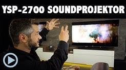 Yamaha MusicCast YSP 2700 Soundprojektor Soundbar Vorstellung