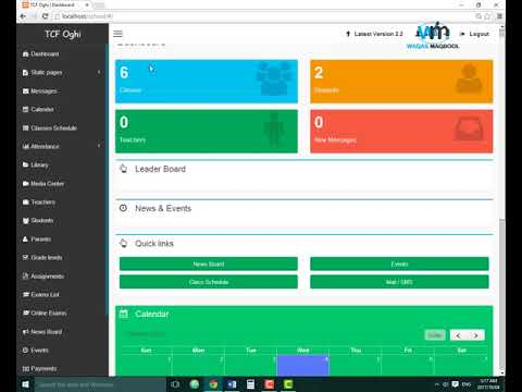 School Management System In PHP With Free Source Code Download & Manage Your School More Effeciently