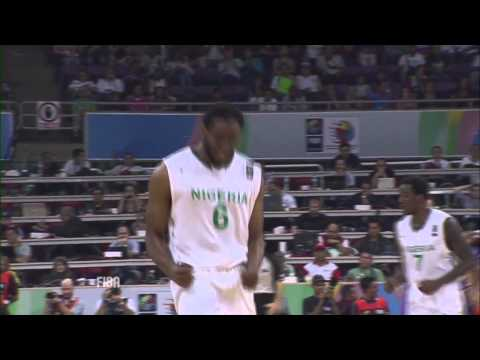 【ナイジェリア】2012ロンドンオリンピック男子バスケ代表