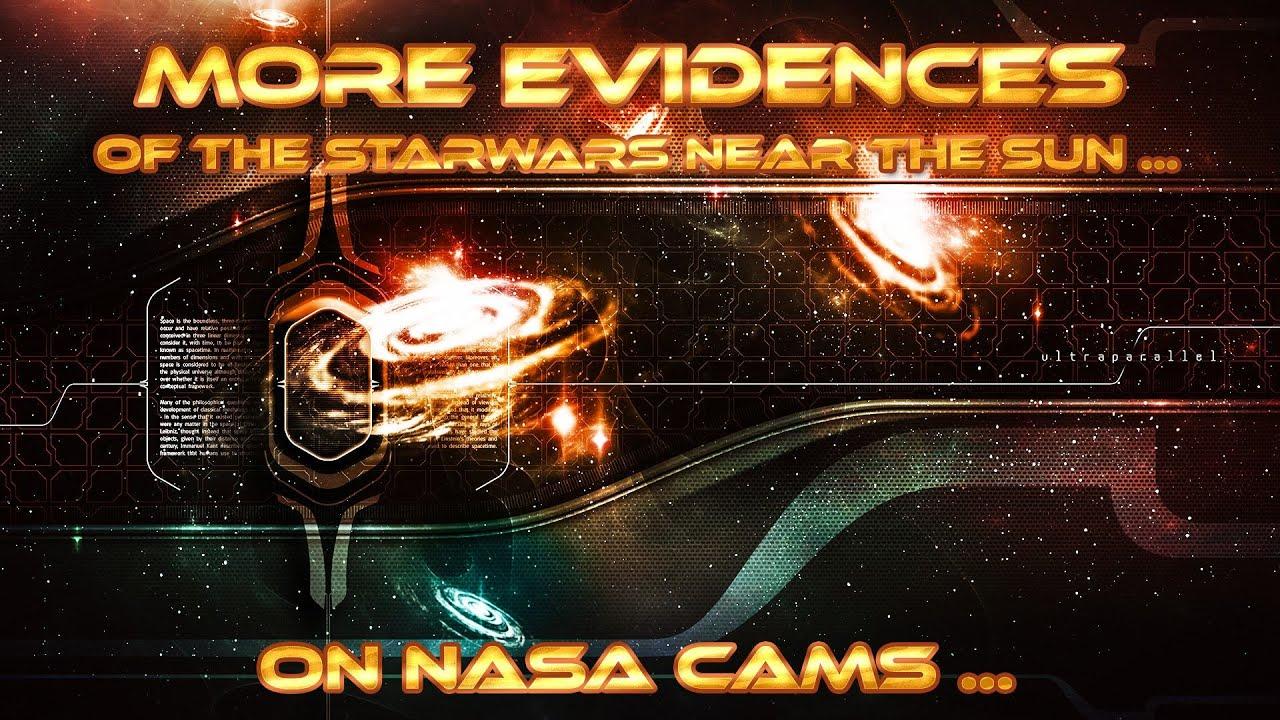 More Evidences of the Starwars near the Sun ... On Nasa Cams ...