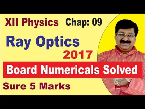 Very Important Question For Class 12th CBSE 2019 Solved-Ray
