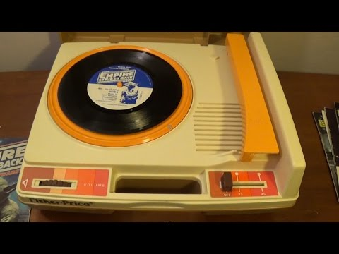 Rockin' Out With The Fisher Price Record Player