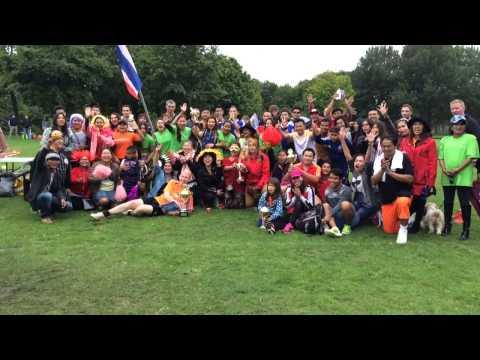 Amsterdam พี สะเดิด ตะกร้อเทิดเกียรติ Thai-Duch Open 2015.