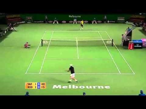 Marat Safin Backhand Highlights