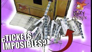¿Se puede ganar todos los TICKETS en esta maquina? | El super JACKPOT más difícil