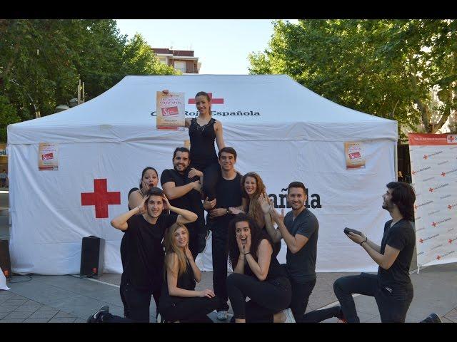 Un 'flashmob' solidario para presentar el Sorteo del Oro