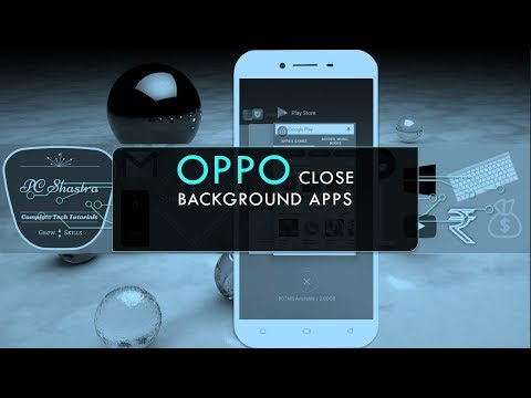 How to Close Background Apps in OPPO - YouTube