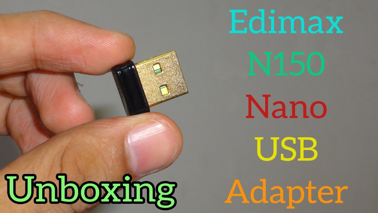Edimax nano usb adapter