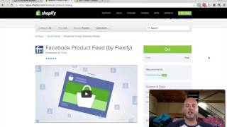 Product Catalog Creation - Shopify & The Facebook Pixel