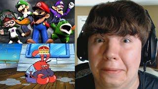 Reaction Monday #4 - The Mario Channel: MARIO'S CHALLENGE + Mr Krubby Krabby Avenges Pearl Harbor