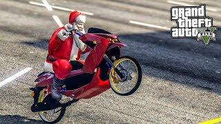 ลุงซานต้ามาแจกของขวัญแล้ว (Santa Claus GTA V Mod)