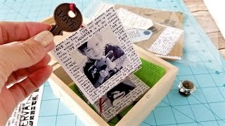 How to Make a Pull Out Style DIY Memory Box in About 30 Minutes