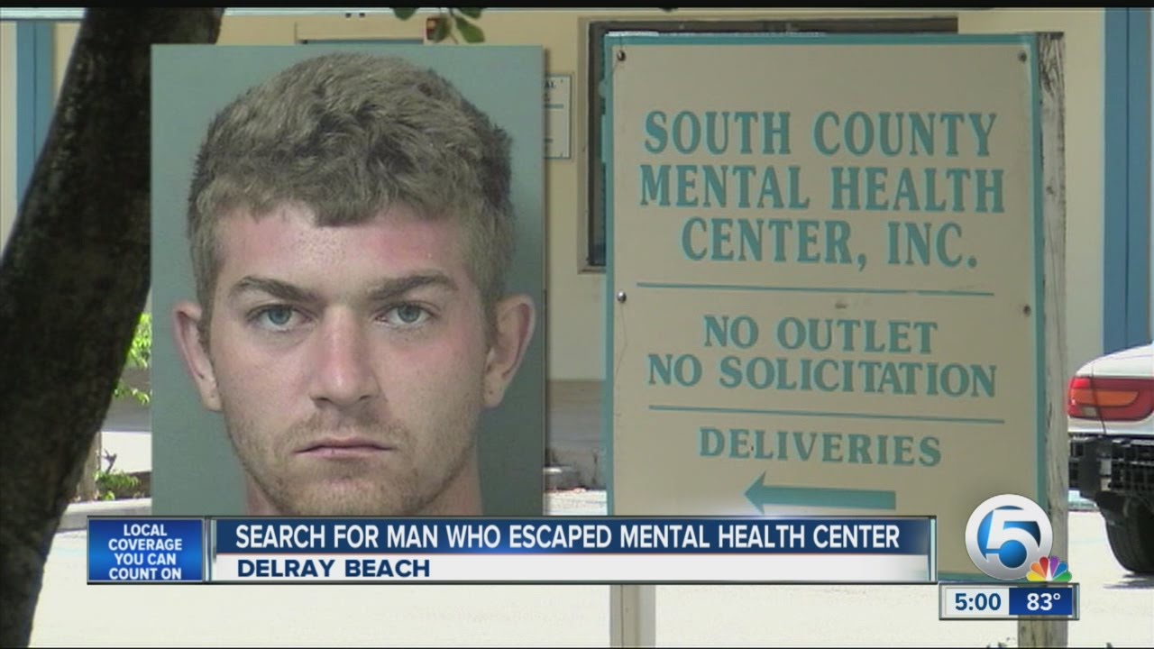 Search For Man Who Escaped From Mental Health Center Youtube