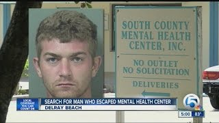 Search for man who escaped from mental health center
