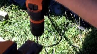 Обзор ударной дрели (1-SPEED PERCUSSION DRILL) AEG SBE 705 RE