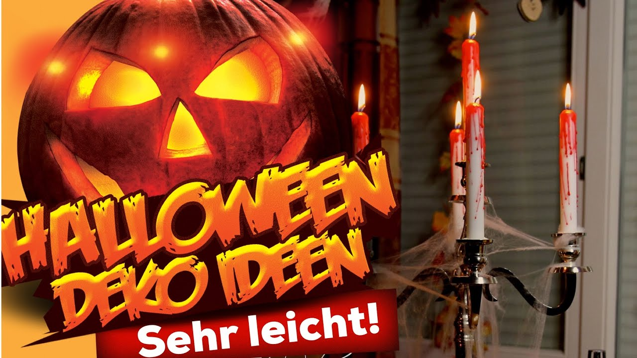 Halloween Deko Decor DIY IDEEN! 2013 Wohnprinz - YouTube