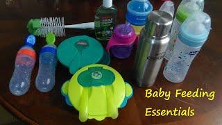 Baby Feeding Essentials | Baby solid feeding utensils | malayalam |