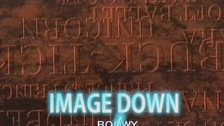 IMAGE DOWN (カラオケ) BOOWY