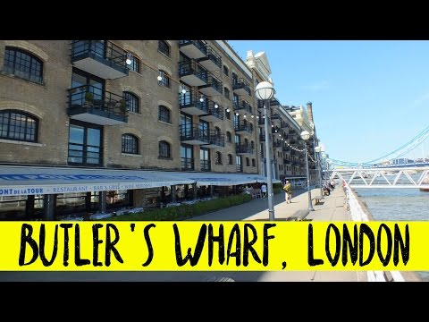 Butler's Wharf, near Tower Bridge | Travel Blog | London | Traveling | Wanderlust