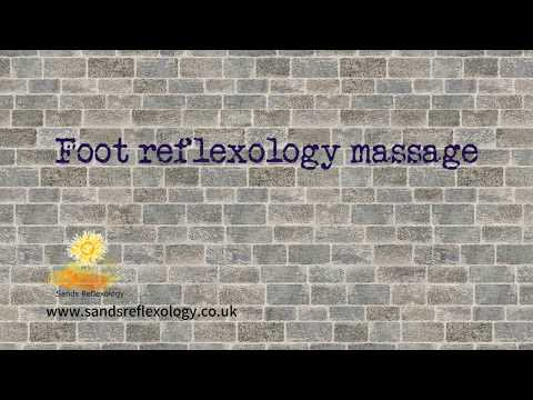 foot reflexology massage in blackheath london