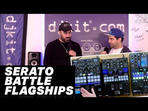 Reloop Elite Vs Pioneer DJ DJM-S9 Vs Rane Seventy-Two - Battle Of The Serato Mixers! #TheRatcave