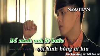 [Karaoke] Sao em nỡ ra đi - Hồ Quang Hiếu Full Beat