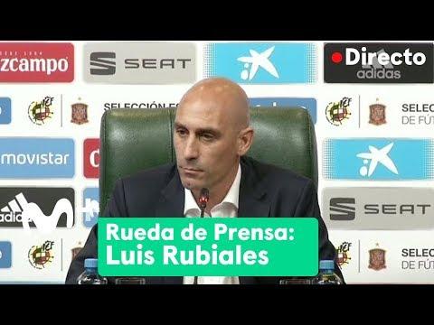 Luis Rubiales anuncia la destitución de Julen Lopetegui como seleccionador español