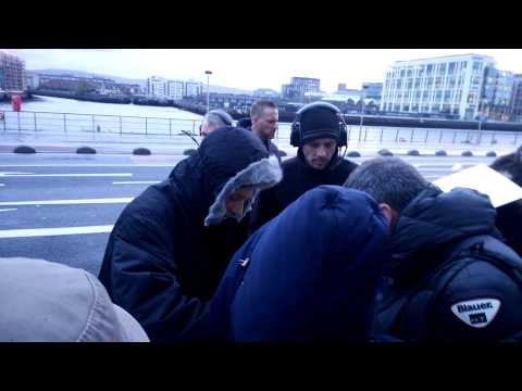 U2 - Adam signing outside 3Arena, Dublin 27-12-201
