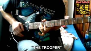 "Iron Maiden - ""The Trooper"" cover"