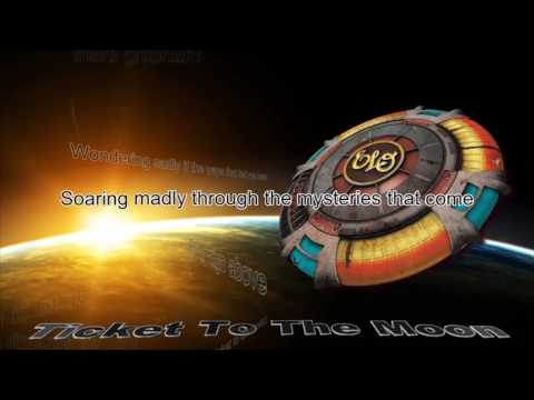 Electric Light Orchestra - Ticket To The Moon Lyric