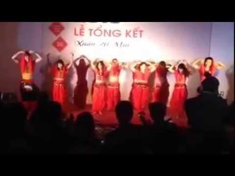 Múa Ấn Độ và Nhảy Nobody của Subaru Hà Nội ft CR AHCOM group ngày 7/2/2015