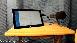 Using the Surface RT 2 for Podcasting and Voice Over Recording (RT not Pro)