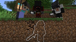Minecraft Survivor VS 3 Hitmen...