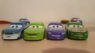 Mattel Cars 3 Dud Throttleman (Mood Springs #33)