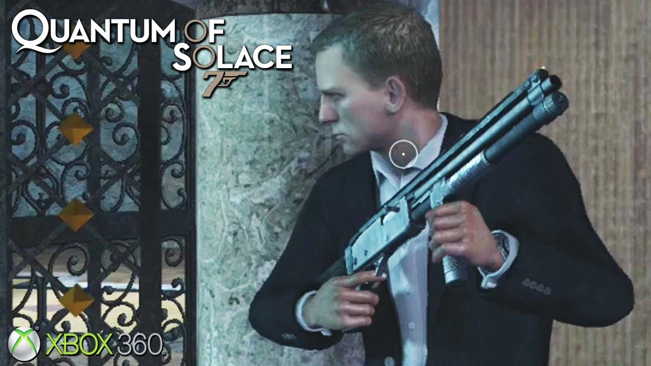 007 Quantum Of Solace Xbox 360 Ps3 Gameplay 2008 Youtube
