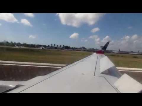 El Salvador to Belize  Avianca (Taca) Embraer 190
