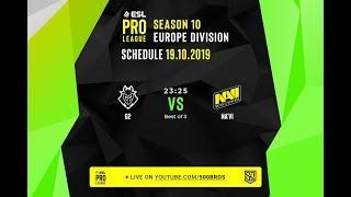 🔴LIVE: [VN] ESL Pro League Season 10 Europe - Group Stage