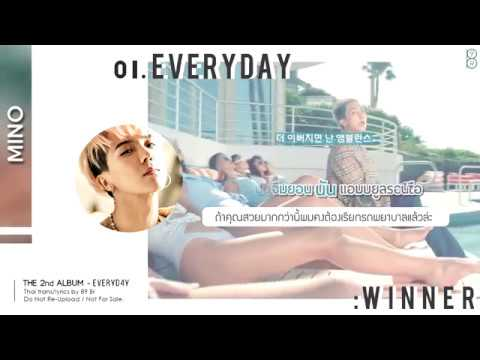 [Karaoke-Thaisub] EVERYDAY - WINNER(위너) #89brฉั๊บฉั๊บ
