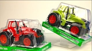 FARM EXPLOITER COLLECTION FARM TOYS - FARM MACHINERY TRACTOR COMBINE HARVESTER -FARM MIGHTY MACHINES