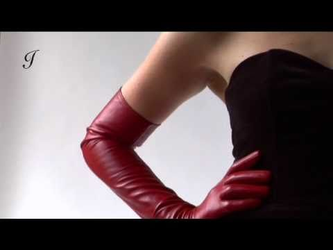 Long Red Leather Gloves for Sensual Ladies and Men | by ...