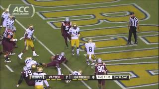 2013-2014 Virginia Tech Football Highlights