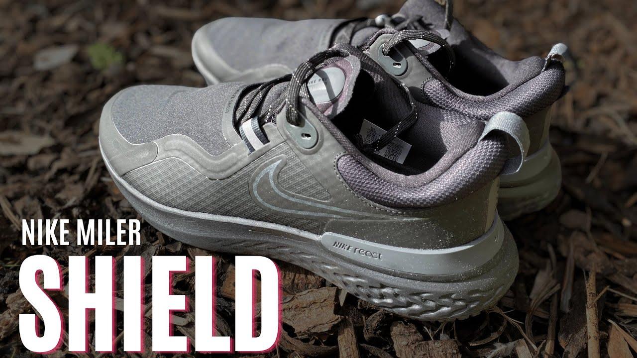 Nike React Miler Shield Review