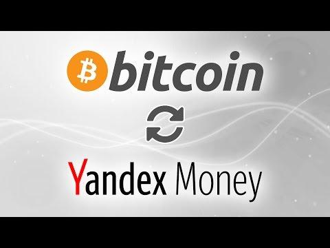 BTC To Yandex Money