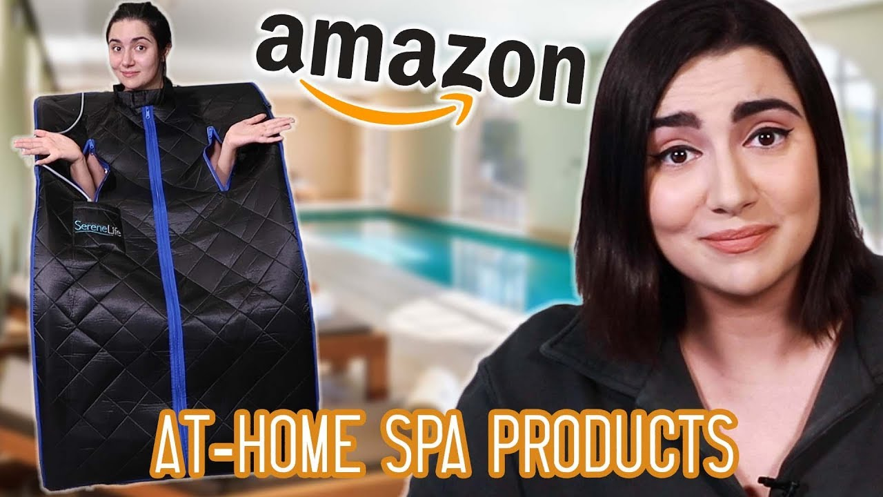 I Built An At-Home Spa From Amazon Products image