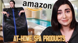 Download I Built An At-Home Spa From Amazon Products Mp3 and Videos