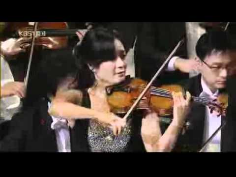 Chee-yun Kim plays Zigeunerweisen with KBS (New Year's concert)