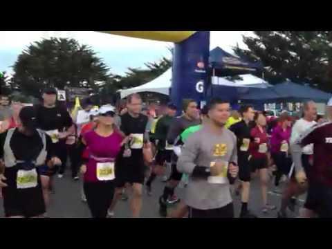 The 2012 Big Sur half Marathon