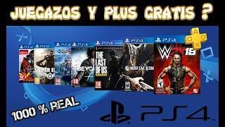 COMO TENER JUEGOS GRATIS + PLUS EN LA PS4 TOTALMENTE GRATIS -  (NO FAKE) 2019